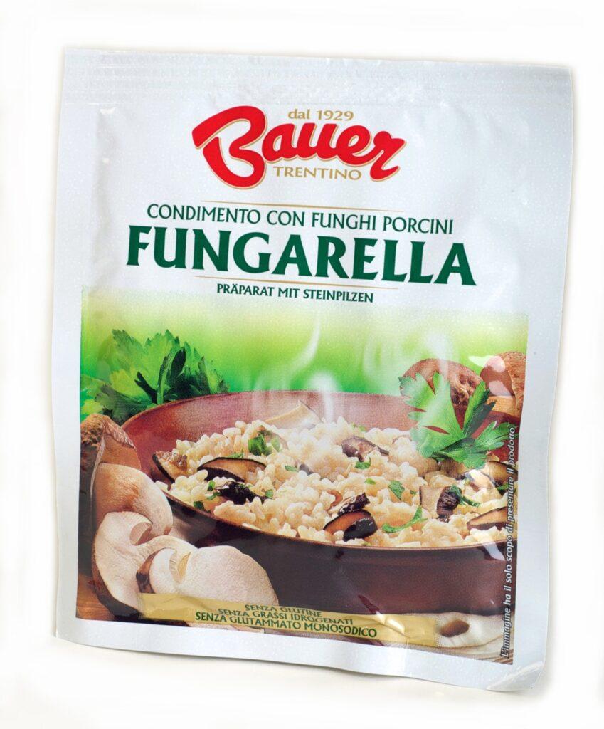 Fungarella, per dare sapore ai tuoi piatti, con tutta la naturalità di Bauer