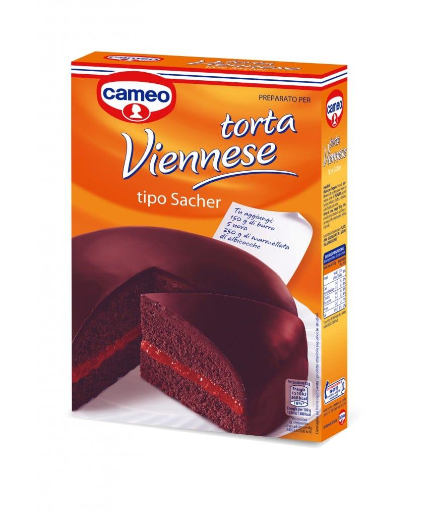 cameo Torta Viennese tipo Sacher , una prelibatezza al cioccolato