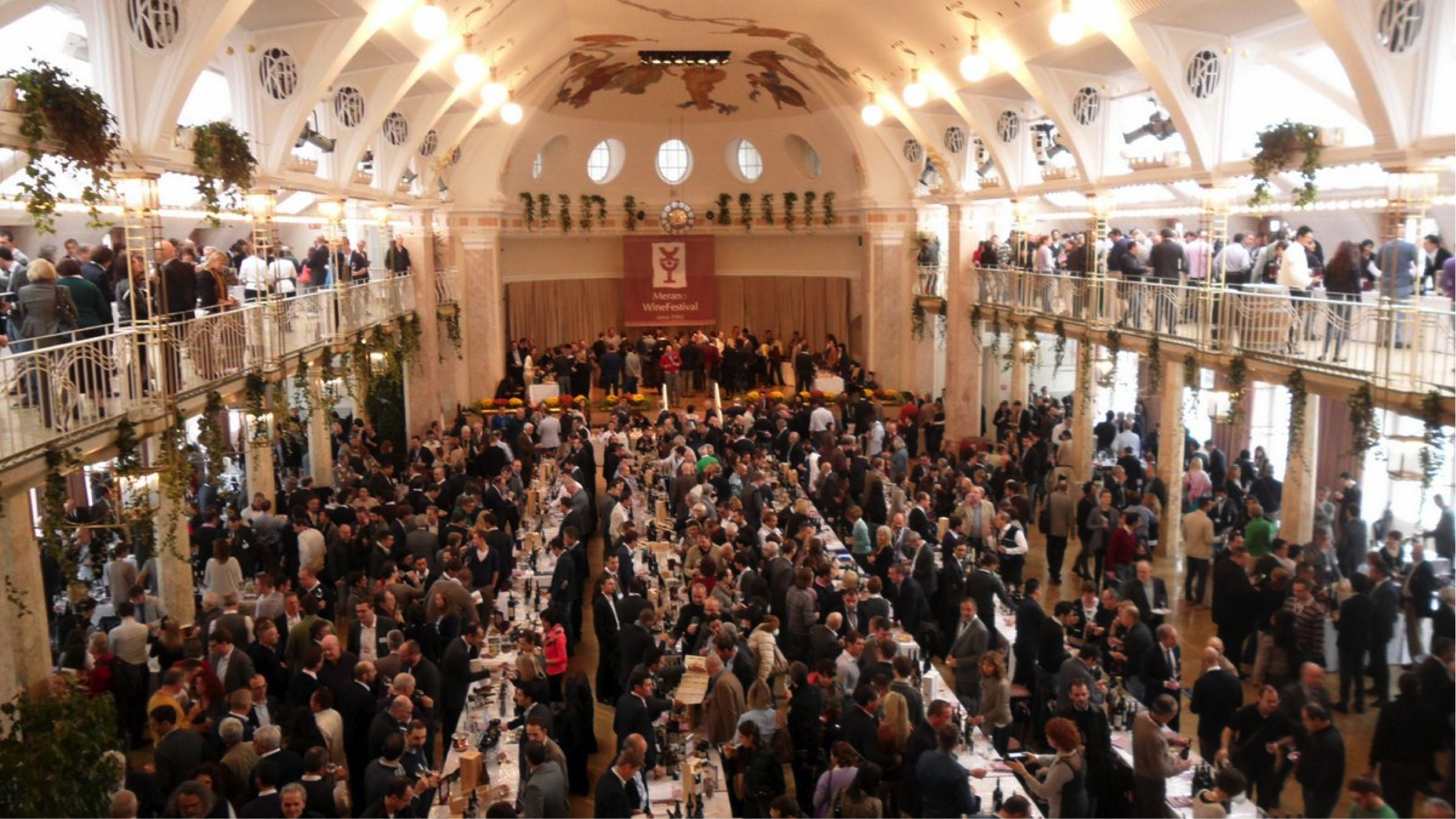 Vinibuoni d'Italia 2018 protagonista alla 26°edizione del Merano Winefestival