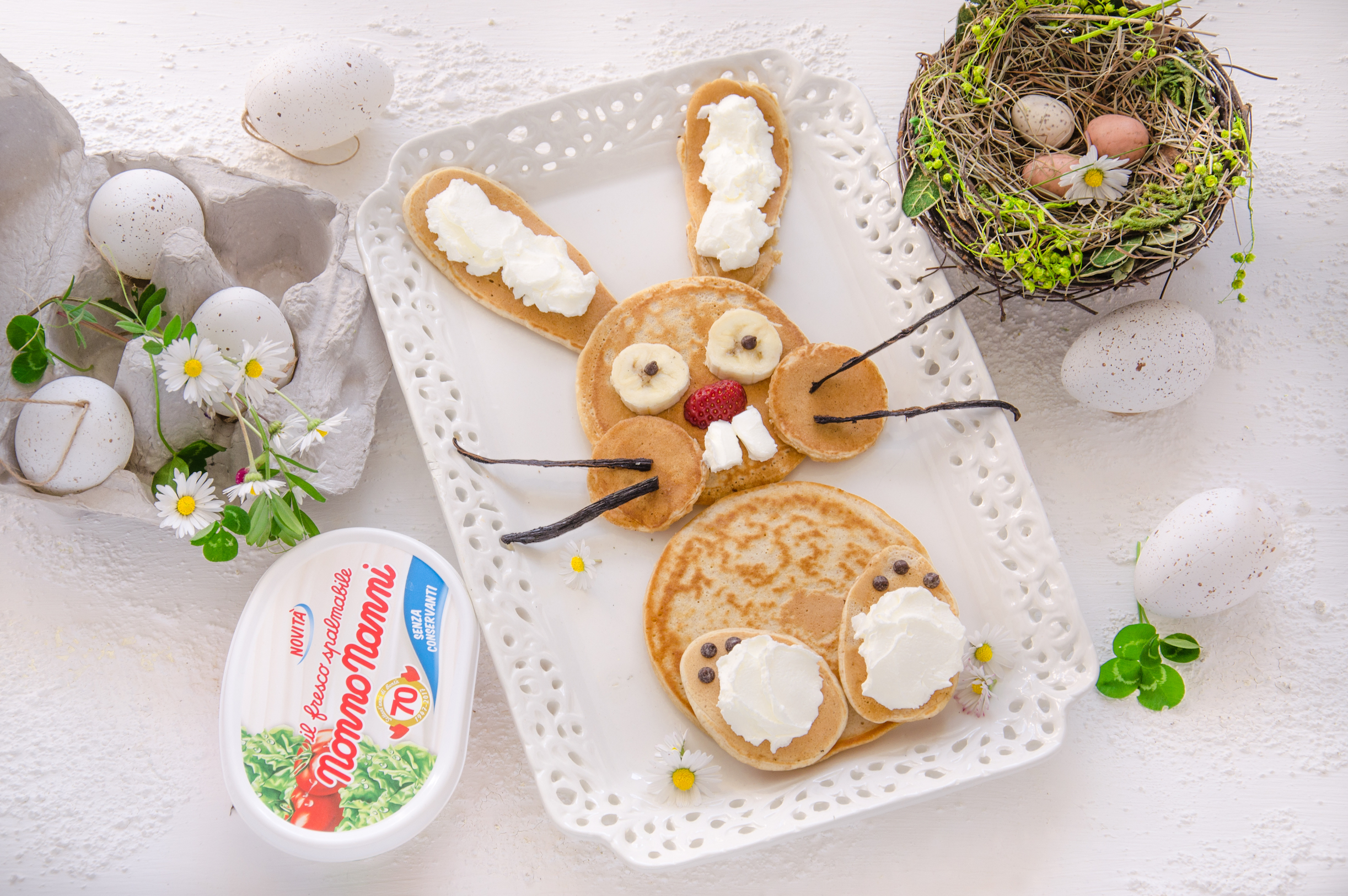 Il coniglietto pasquale, la dolce ricetta dedicata ai bambini da Nonno Nanni