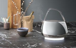 Con Jacqueline, il bollitore Bugatti raffinato e smart, il tea time sarà perfetto!