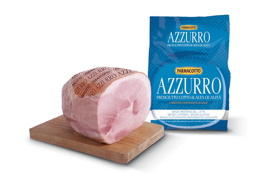 Parmacotto Azzurro, il prosciutto cotto con 25% di sale in meno