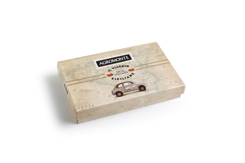 A Natale tutto il gusto della Sicilia nella scatola regalo firmata Agromonte