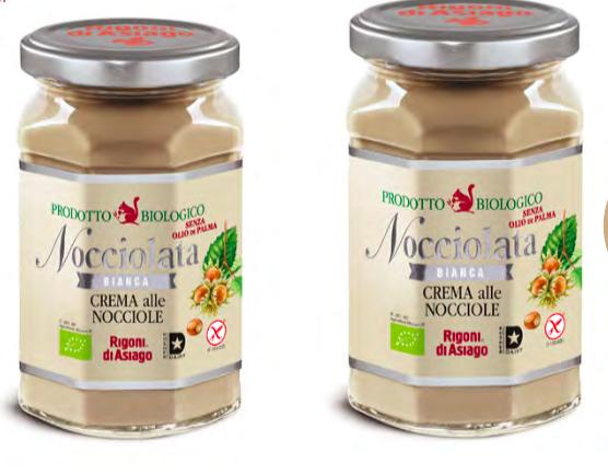 Nocciolata Bianca di Rigonidi Asiago, nuova e ricca di gusto!