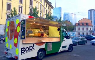 Bop!, il truck che propone ottimo cibo healty con ingredienti di stagione