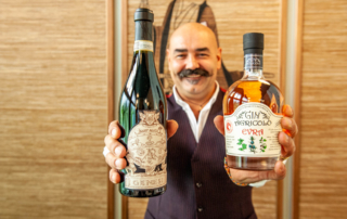 Franco Cavallero, una passione per il Gin e per i suoi vini
