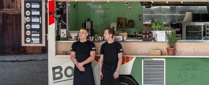 """Bop!, il """"Fast Fresh Food"""" itinerante ad impatto ambientale zero"""