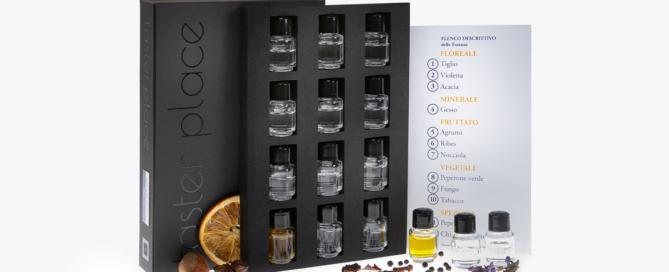 Un kit aromi per i nuovi corsisti di ais veneto