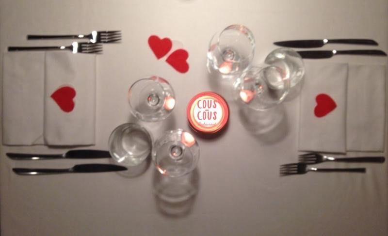 A San Valentino il Cous-Cous Restaurant propone un menu speciale per gli innamorati